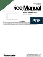 Panasonic+Th 46pz85u+Service+Manual