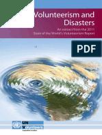 Volunteerism and Disasters