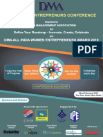 Conference Souvenir DMA 9th Women Entrepreneurs Conference