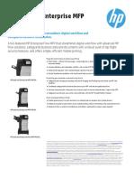HP M630z Spec Sheet