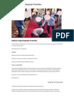 Hukum Sujud Kepada Presiden _ Konsultasi Agama Dan Tanya Jawab Pendidikan Islam