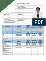 Crew Information ATTII