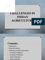 Challenges in Indian Agriculture