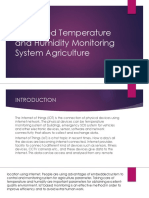 IOT-based Temperature and Humidity Monitoring System Agriculture