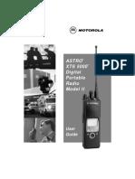 Radio Motorola Xt s 5000 Model 2