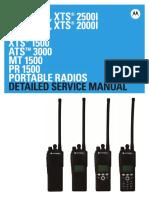 Motorola ASTRO XTS2500 XTS1500 Detailed Service Manual