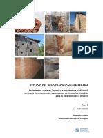 Estudio Del Yeso Tradicional en España Fase 2