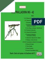 Ametralladora MG 42