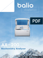 Balio Ax-200 Brochure En