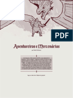 Aventureiros e Mercenários Playtest 1.0