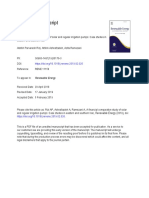 A financial comparative study of solar and regular irrigation pumps_ Case studies in eastern and southern Iran.pdf