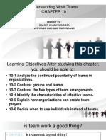 Bahan Present Chapter 10 Understanding Work Teams