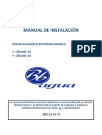 Instrucciones Descalcificador Ceramic Bbagua