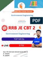 Top MCQs of ENVIRONMENT ENGINEERING by Sandeep Jyani Sir.pdf