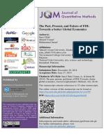 3. the Past, Present, And Future of FDI
