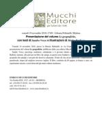 Le geografiche alla Feltrinelli di Modena, venerdì 19/11 alle 17