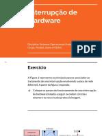 T1 - Interrupção de Hardware (exercícios resolvidos)