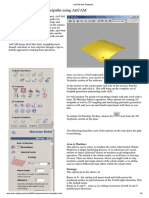 ArtCAM 2008 and Toolpaths