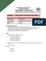 Evaliasi Excel Untuk Siswa
