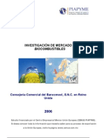 Investigación de Mercado Biocombustibles 2008