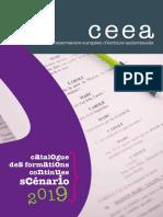 Catalogue des formations de scénaristes