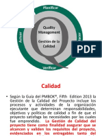 calidad de procesos UIS