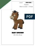 Diy Baby Unicorn
