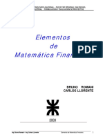 Fundamentos MatemáticaFinanciera