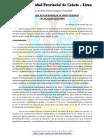 Resolucion de Sub Division Ultimo