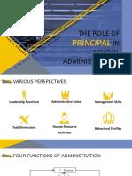 principal roles
