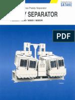 Satake Paddy Separator PS