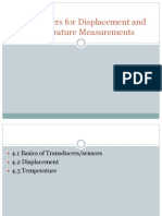 4.Transducers for Displacement and Temperature Measurements