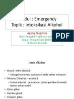 Slide Kuliah Intoksikasi Alkohol