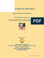 The Glory of Lord Shiva