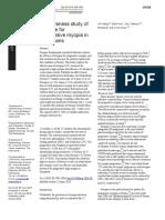 Effectiveness Study of Atropine for Progressive Myopia in Europeans