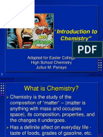 Gen Chem 1 Notes Introduction to Chemistry