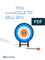 Why You Struggle to Sell SEO