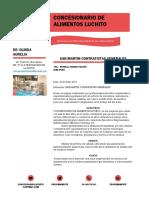 CARTA DE PRESENTACIÓN DE SERVICIOS PARA COMEDOR