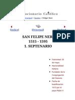 A san Felipe Neri