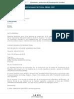 Li Codigo Organico Integral Penal Coip