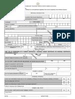 SAPS Application Form