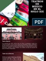 Teatros De Mexico en El Siglo XIX