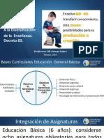 Orientaciones de Apoyo a La Diversificación de La Enseñanza. D.83