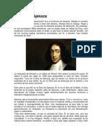 El Dios de Spinoza