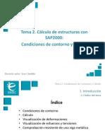 Presentación_M4T2_Cálculo de Estructuras Con SAP2000_Condiciones