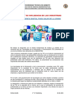 NTICS 1. INLFUENCIA DE LAS NTICS Y AVANCES TECNOLOGICOS.docx