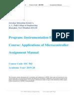 Assignment  Manual AMC INSTRU  2019-20.docx