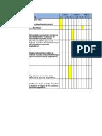Carta Gantt Protocolos