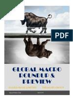 Global Macro Roundup & Preview (26 July, 2017)