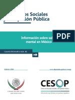 Salud Publica Mental en Mexico